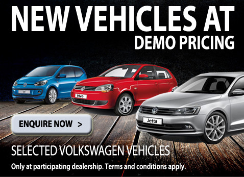 NEW VW Vehicles at Demo pricing