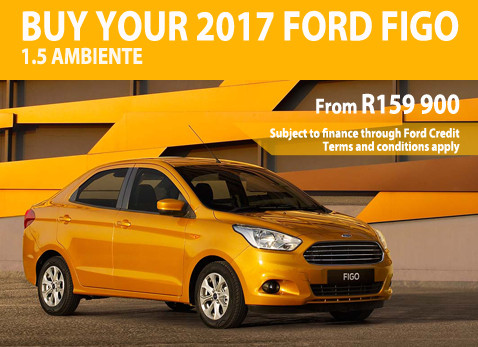 2017 Ford Figo 1.5 Ambiente from R159 900