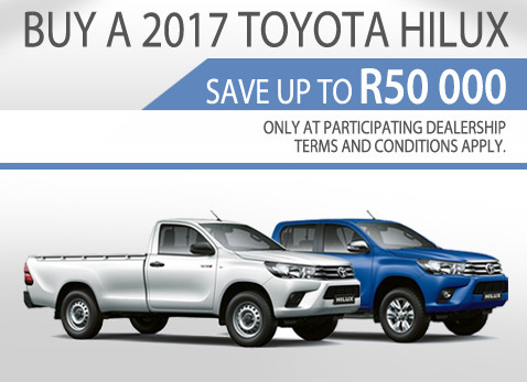 2017 Toyota Hilux Balle special - Save up to R50 000