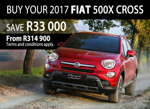 FIAT 500X Cross - May 2017 Special