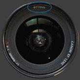 77 mm filter diameter