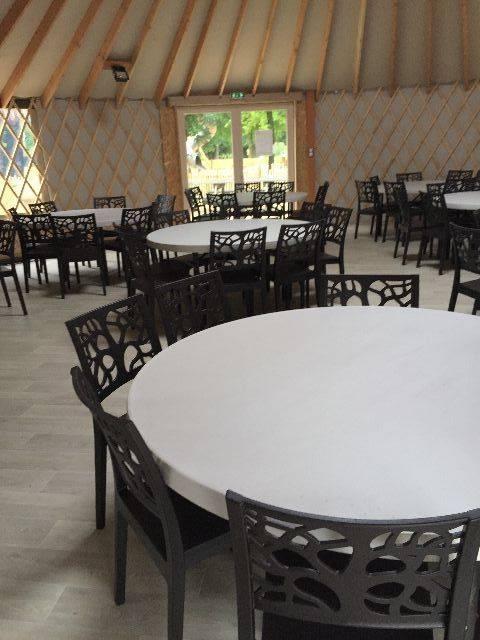 Table Ronde Cuisine 6 Personnes