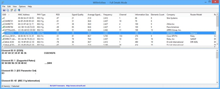 Download WifiInfoView 233