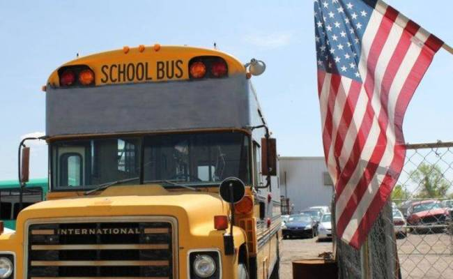 23 Cool Tiny House School Bus Can Crusade