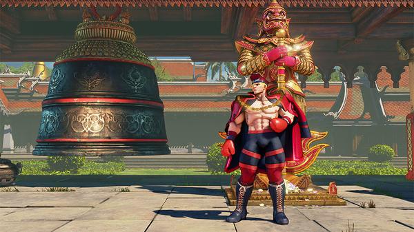Street Fighter V Ed Reveal Trailer 13