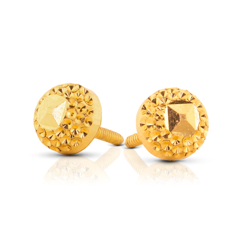 New Earring Gold tops