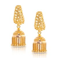 Gold Earring Designs Jhumka