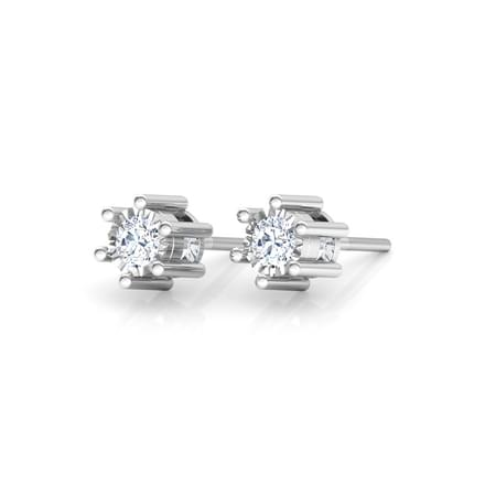 Glitter Miracle Plate Stud Earrings Jewellery India Online