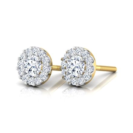 Radiance Solitaire Earrings Jewellery India Online