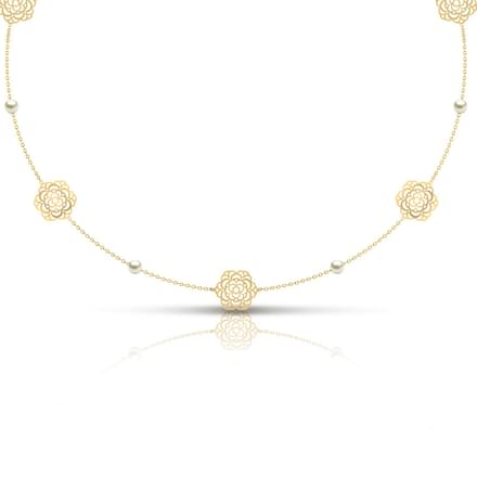 Gold Necklace Designs In 10 Grams 20 Grams Online At