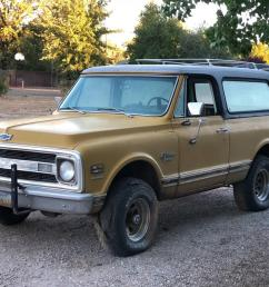 weekly craigslist hidden treasure 1970 chevrolet cst blazer 4x4 carbuzz [ 1600 x 1200 Pixel ]
