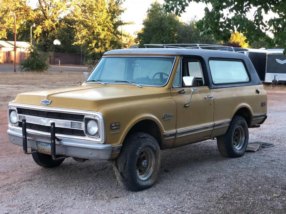 medium resolution of weekly craigslist hidden treasure 1970 chevrolet cst blazer 4x4 carbuzz