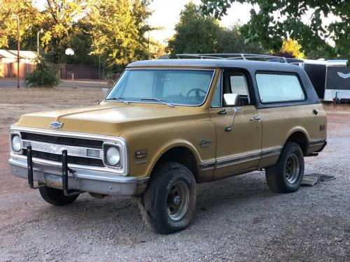 small resolution of weekly craigslist hidden treasure 1970 chevrolet cst blazer 4x4 carbuzz