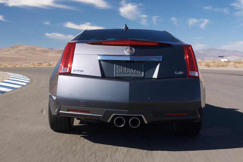 2014 cadillac cts v coupe exterior
