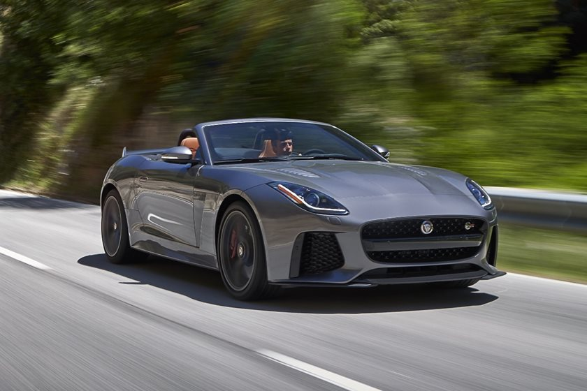 2018 Jaguar F Type Svr Convertible Review Trims Specs And Price