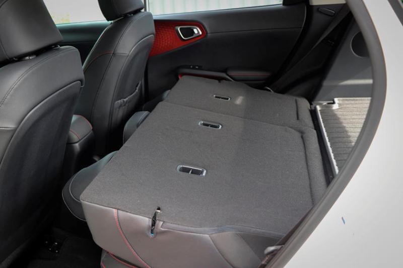 2020 Kia Soul Rear Passenger Seats