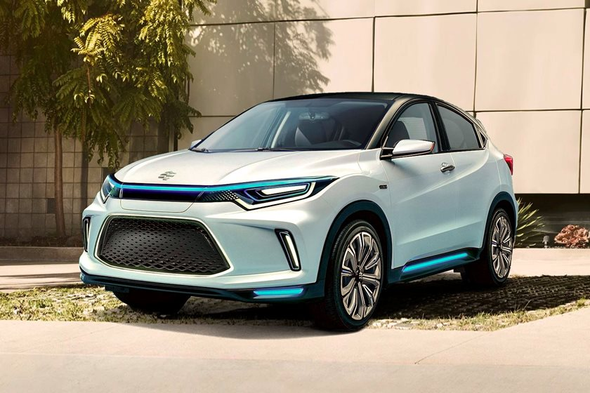 All Electric Honda Hr V Previewed With New Everus Brand For China