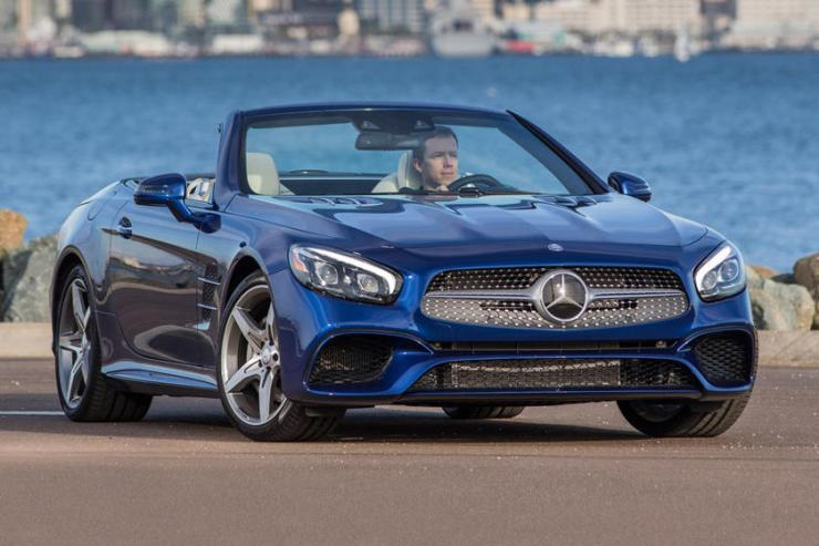 2017-2020 Mercedes-Benz SL Roadster Front View