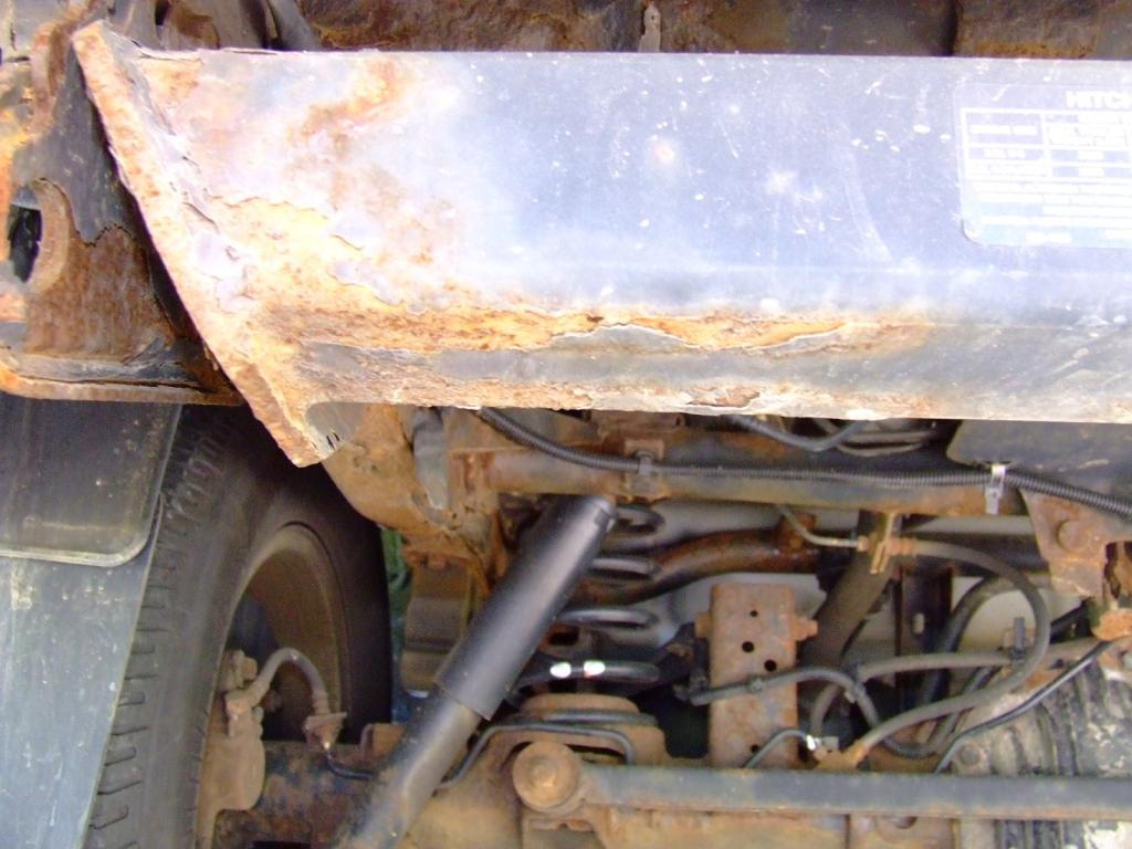 2001 Honda Passport Frame Rotted Completely Through In The