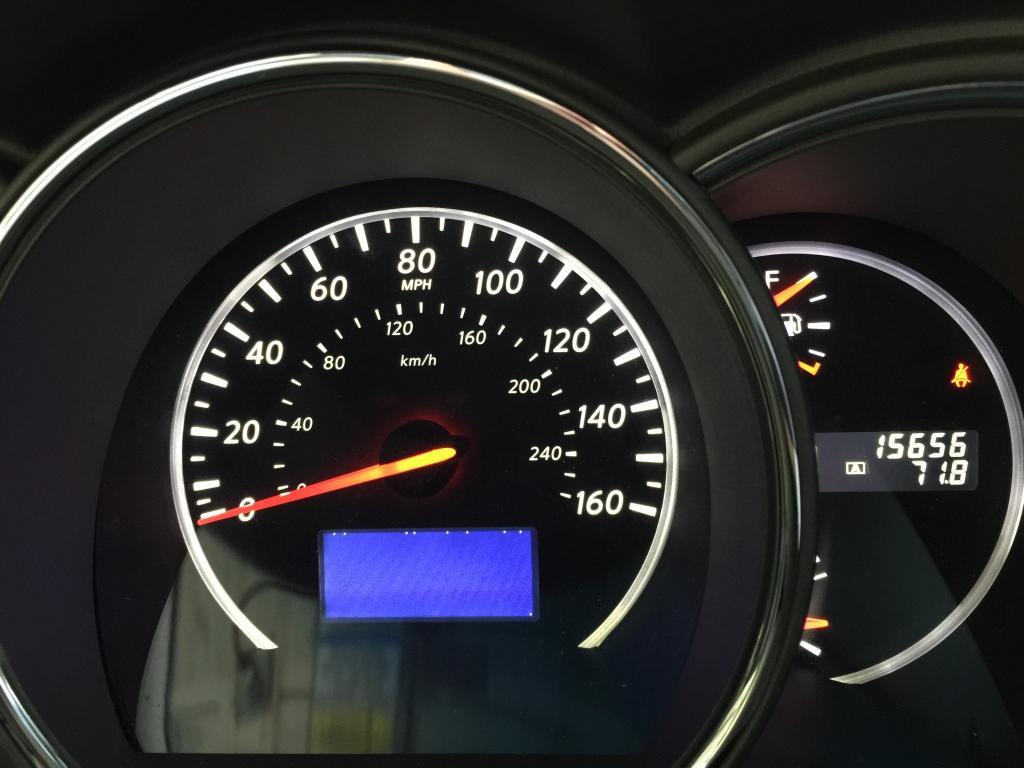 2014 Nissan Murano Speedometer Display Not Working 1