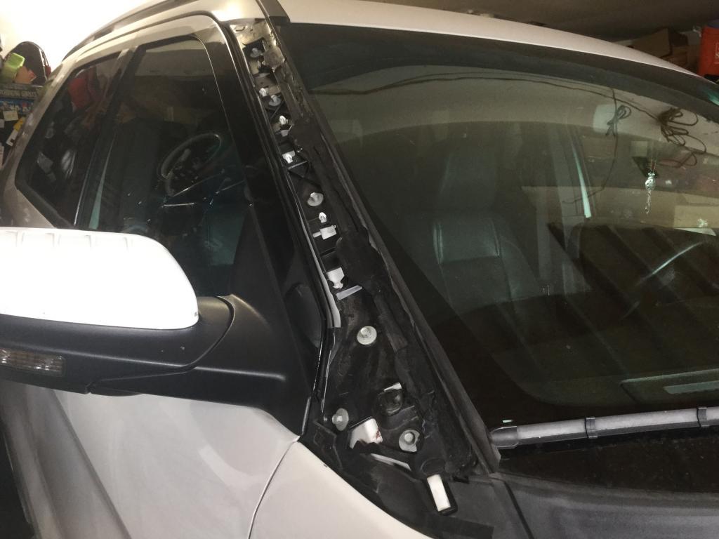 car window parts diagram femur anatomy 2015 ford fiesta molding auto