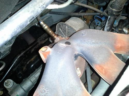 small resolution of exhaust manifold cracked 2009 chevrolet