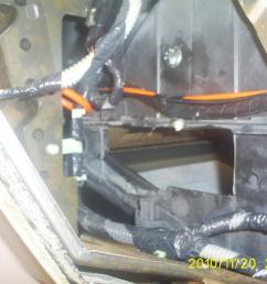 blend door cracked in the heater core box [ 1024 x 768 Pixel ]
