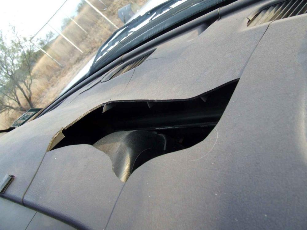 medium resolution of cracks in dashboard
