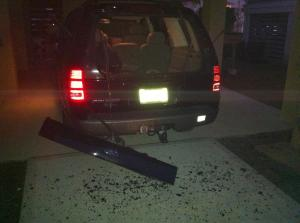 2002 Ford Explorer Rear Lift Gate Window Exploded: 81 Complaints