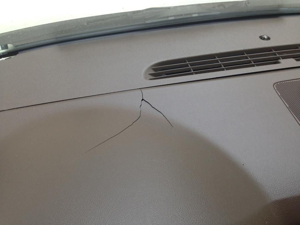 2010 Chevrolet Tahoe Cracked Dashboard 3 Complaints