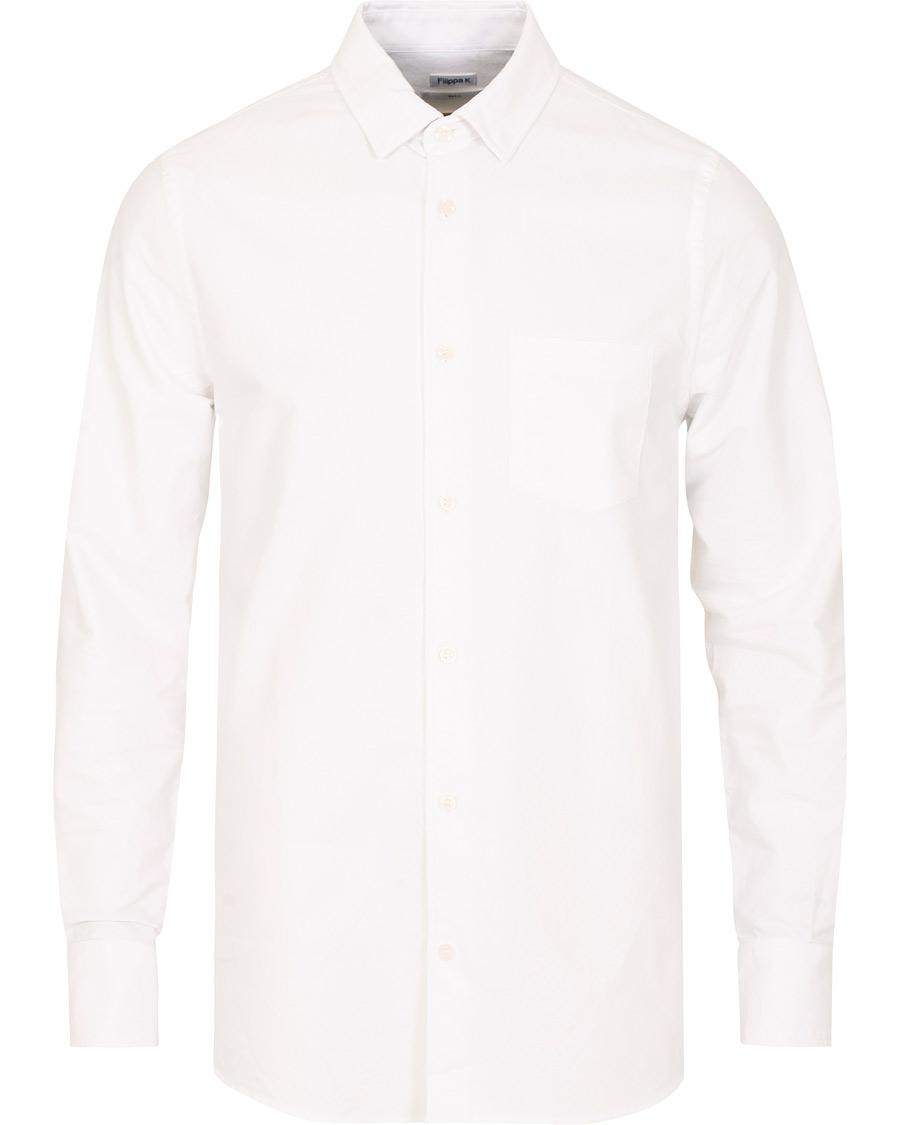 Filippa K Tim Oxford Shirt White hos CareOfCarl.com