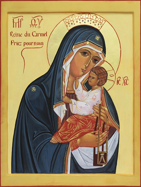 Mère De La Vierge En 4 Lettres : mère, vierge, lettres, Neuvaine, Vierge, Carmel, Province, Paris, Carmes, DéchauxProvince, Déchaux
