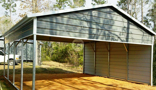 A Frame Style Rv Carports Metal Rv Cover With Lean To For Sale