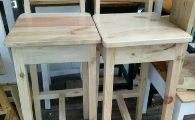 Kursi Bar Sandar Kayu Jati Belanda Tangerang Selatan Jualo