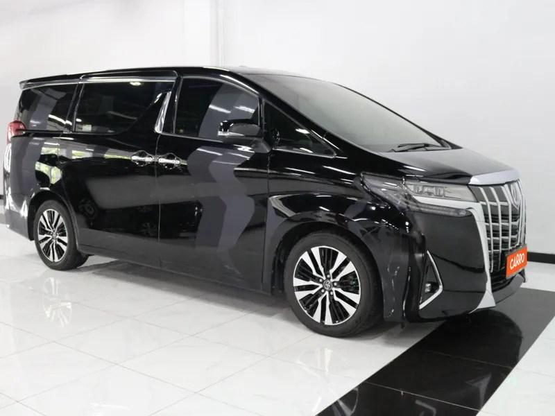 Sebelum beli, cari tahu dulu spesifikasi. Jual Beli Mobil Bekas Murah dan Bergaransi | Toyota Alphard 2.5 G 2018 Hitam | Carro.id
