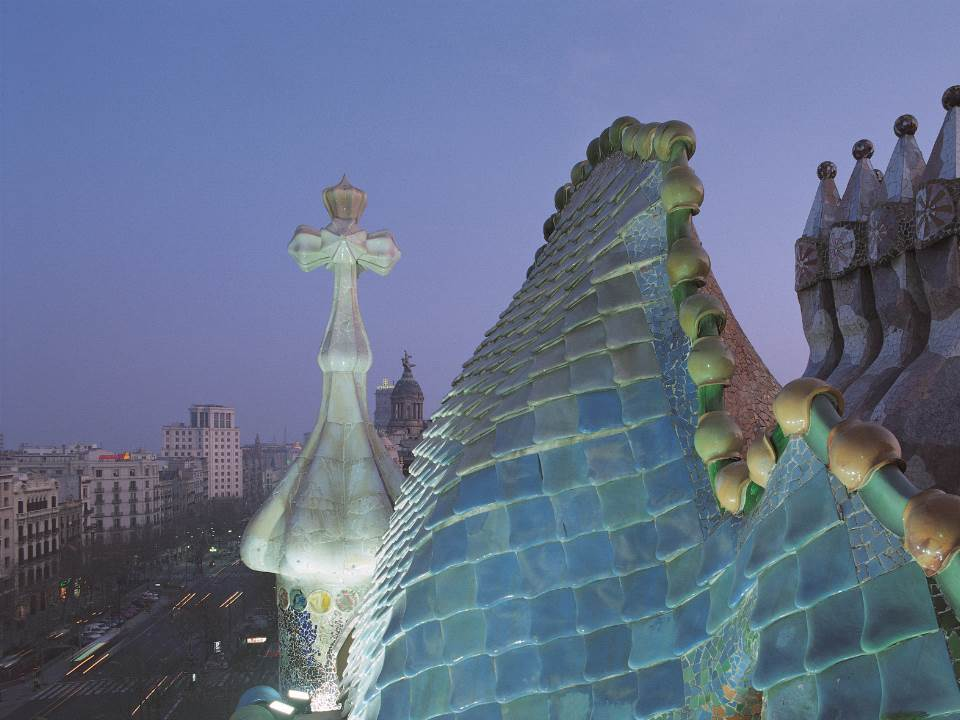 The best Gaud buildings in Barcelona  Casa Batll