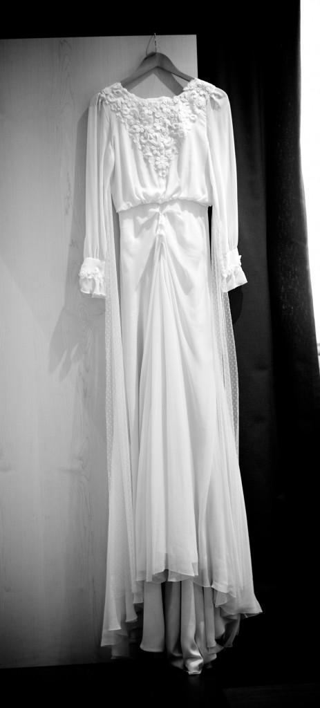 vestido Helena Mareque