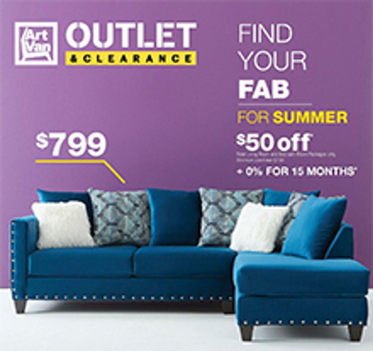 art van furniture catalog coupon code