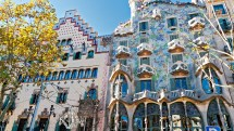 Antoni Gaudi Casa Batllo Barcelona