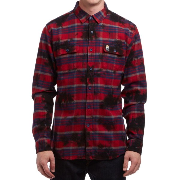 Boys Red Flannel Shirt
