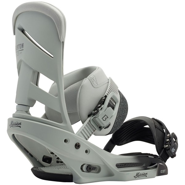 Burton Mission Est Snowboard Bindings 2015 - Faded
