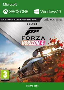 Forza Horizon 4: Deluxe Edition Xbox One/PC cheap key to download