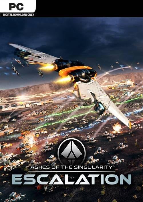 Ashes Of The Singularity : ashes, singularity, Ashes, Singularity:, Escalation, CDKeys