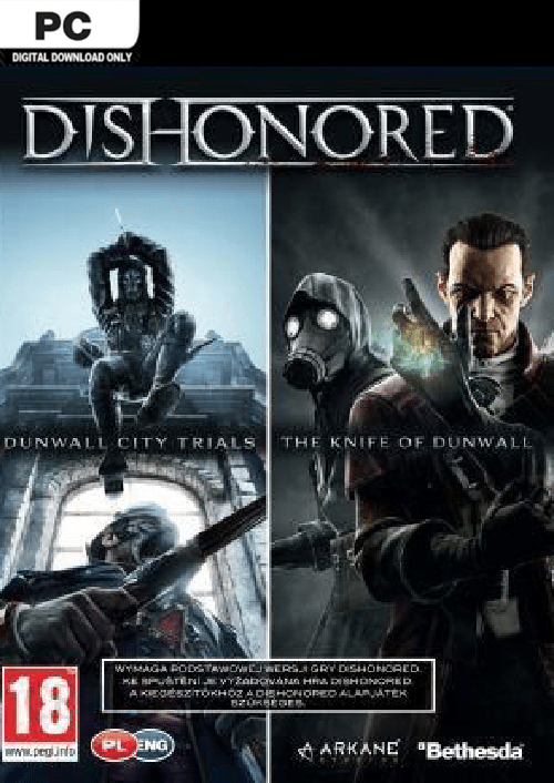 dishonored pc dlc double