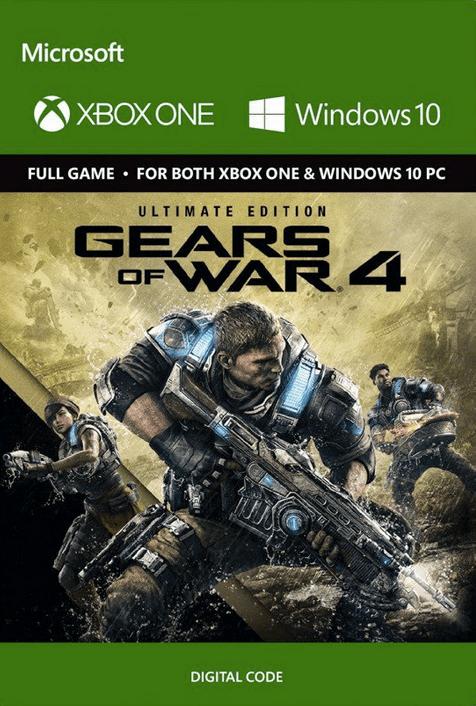 Gears Of War 4 Ultimate Edition Xbox One Digital Code CD Key Key