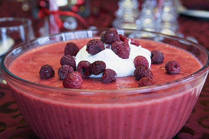 Raspberry Jello Mold Salad