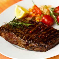 Kitchen Fryer Pot Racks New York Strip Steak Recipes - Cdkitchen