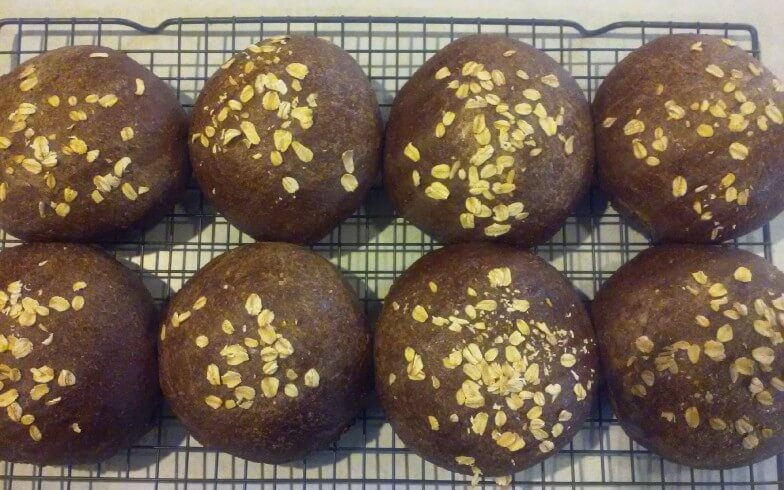 Honey Wheat Black Bread Recipe Cdkitchencom