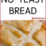 No Yeast Bread Recipe Cdkitchen Com