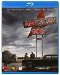 American Gods Blu-Ray cover